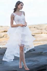 Knee Length Wedding Dresses 10 Short U0026 Knee Length Wedding Dresses To Wear On Your Big Day