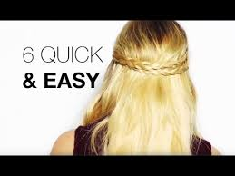 different hairstyles with extensions 6 quick easy hair extensions hairstyles youtube