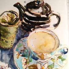 liz steel sketch tea cup tea cups pinterest tea cup