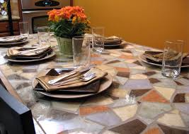 Mosaic Patio Table Top by Tile Patio Table Top