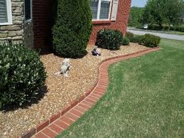 tips on how to make brick edging in your yard