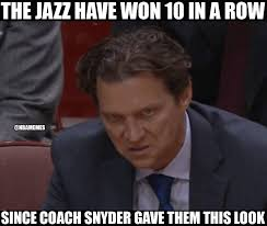 Utah Memes - nba memes the utah jazz have won 10 in a row and facebook