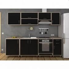 cuisine moins cher cuisine complete noir mat bois 240 cm acheter moins cher