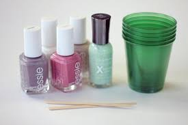 nail art diy how to do marble nails