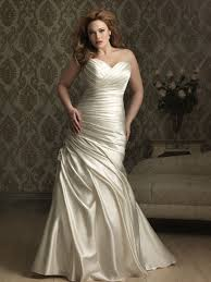 silk wedding dresses 25 best curvy wedding dresses for plus size brides everafterguide