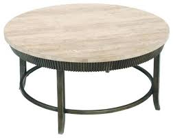round stone top coffee table design of round metal coffee tables round metal coffee tables houzz