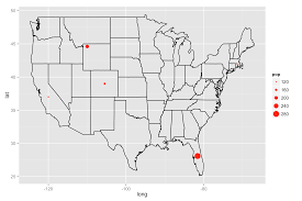 Plot Map R Create A Spatial Bubble Plot That Overlays A Basemap Of The Us