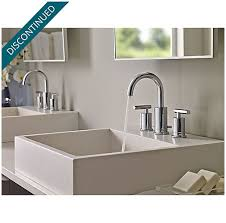 price pfister contempra kitchen faucet polished chrome contempra widespread bath faucet gt49 nc1c