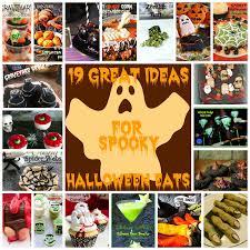 19 great ideas for spooky halloween eats joybee what u0027s for dinner