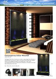 Contemporary Indoor Water Fountains by Ahs Fixtures Malaysia Stainless Steel Glass Floor Fountain