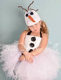 olaf costume winter snowman costume tutu costume baby costume toddler