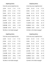 simplifying ratio hidden message by jhofmannmaths teaching