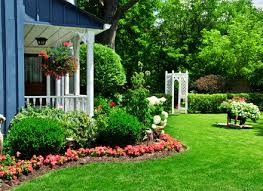a circular lawn could we do this and overlap with a circular bark