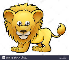 a lion safari animals cartoon character stock photo royalty free