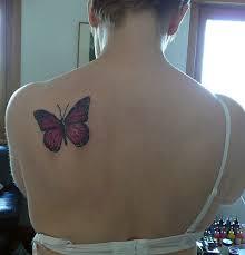 between shoulder blades tattoos ideas