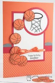 handmade happy birthday dad baksetball card by nadyasworld