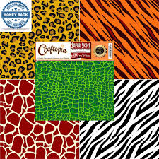 vinyl sheets animal prints leopard cheetah zebra tiger gator
