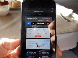T Mobile Inflight Wifi American Airlines B777 300er First Class London To New York U2013 The