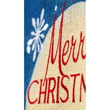 merry christmas burlap house flag christmas flags holidays