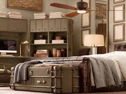 vintage bedroom ideas for small rooms dark varnished solid wood
