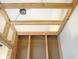 how to build a basement closet drywall installation