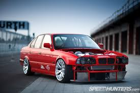 bmw e34 stance attack mode enabled the mi performance e34 speedhunters