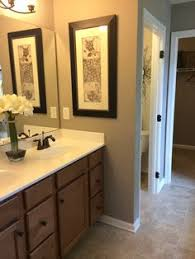 ryan homes rome model powder room design before and after home