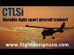 ct light sport aircraft flight design usa ctls ctlsi ctsw ct light sport aircraft