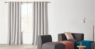 light grey curtains eyelet 66 x 72