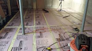 stunning idea basement subfloor sub basements ideas