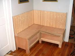 Kitchen Bench Seating With Storage Plans by Build A Storage Bench Plans Bench Decoration