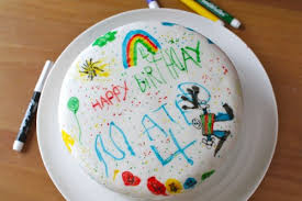 where to buy edible markers birthday cake with edible markers counting candles
