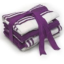 tea towels purple white 5pk wilkos 4 00 kitchen accessories
