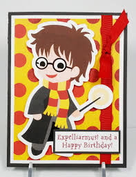 simply pam harry potter birthday card u0026 gift box