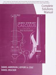 complete solutions manual chapters 1 11 for stewart u0027s single