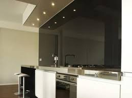 black glass backsplash kitchen painted black glass backsplash with white cabinets designs ideas