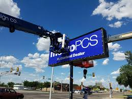 pole signs are a step above the rest step up your business signage