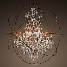 Vintage Crystal Chandelier For Sale Aliexpress Com Buy Modern Vintage Orb Crystal Chandelier