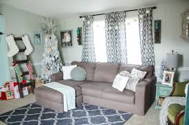 mobile home decorating photos mobile home christmas home tour 2016 re fabbed
