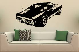 ford mustang wall decals car autos gallery ford mustang wall decals image