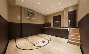 Awesome Indoor Basketball Gyms Pictures Interior Design Ideas - Home basketball court design