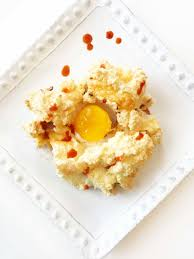 egg clouds bacon chive u0026 cheddar eggs in clouds u2014 the skinny fork