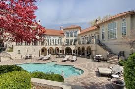 spectacular mediterranean style mansion in kansas