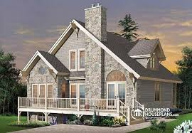 ski chalet house plans house plan w2957a detail from drummondhouseplans