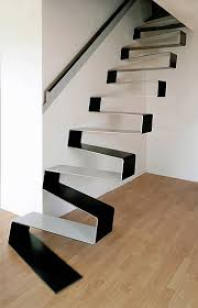 Floating Stairs Design Floating Stairs Black And White Floating Staircase Designs