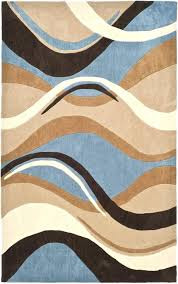 Chocolate Brown Area Rugs Brown Blue Area Rug Tapinfluence Co