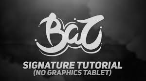 Signature by How To Make A Signature In Illustrator Without A Graphics Tablet