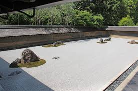 Zen Garden Rocks The Kare Sansui Landscape Rock Garden Or Zen Garden At The