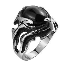 stainless steel rings for men luxury tryme brand men rings 316l stainless steel jewelry men