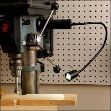 led gooseneck machine light magnetic mount led work light lee valley tools